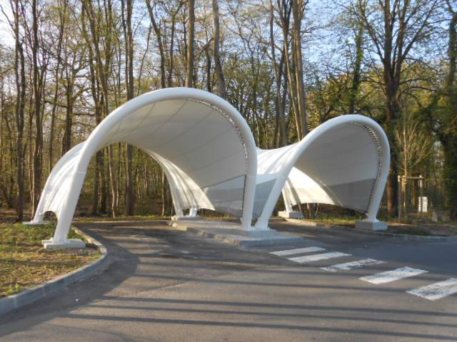 Aire de Repos Sanef bureau dtudes structures Asteo